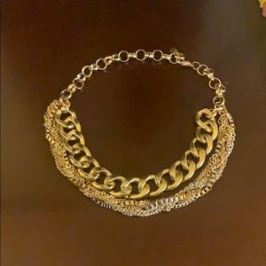 golden necklace new
